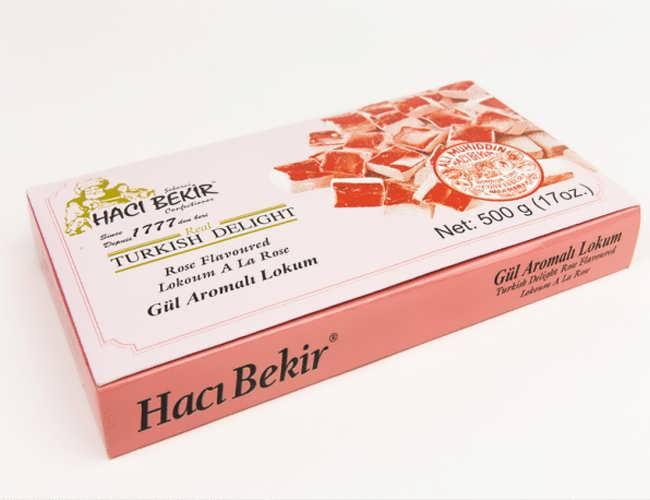 Haci Bekir Rose Flavoured Turkish Delight фото