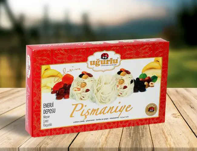 Floss Halva, Pismaniye with Nuts and Fruits фото