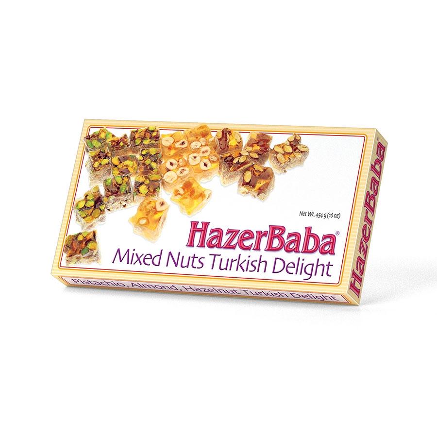Hazer Baba Mixed Nuts Turkish Delight фото