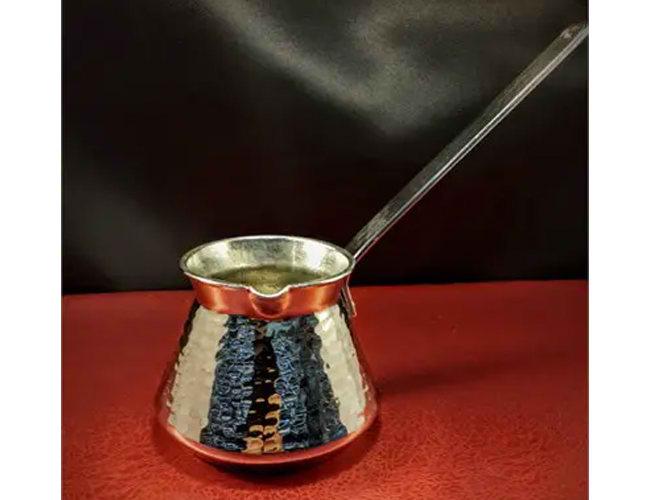 Nickel Turkish Coffee Pot фото