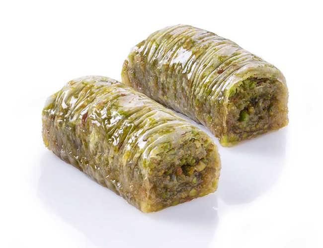 Wrap with Pistachio Baklava фото