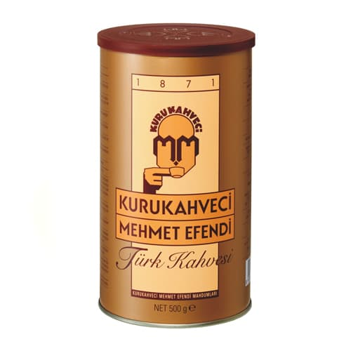 500 gr turkish coffee kurukahveci mehmet efendi