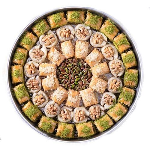 Antep special assorted baklava tray