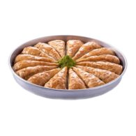 Baklava Palace with Pistachio in Tray