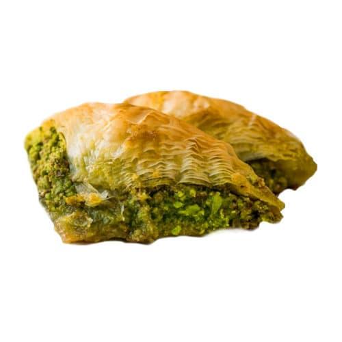 Baklava sobiyet with pistachio