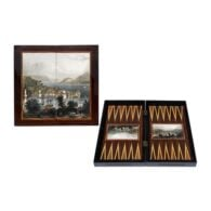 Bosphorus Handmade Backgammon Nacre