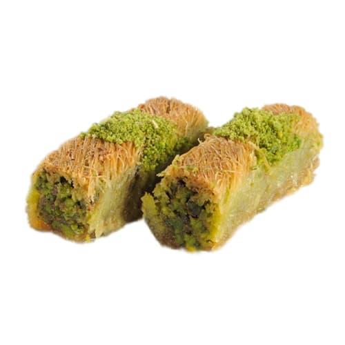 Birmânia Kadayıf com pistache