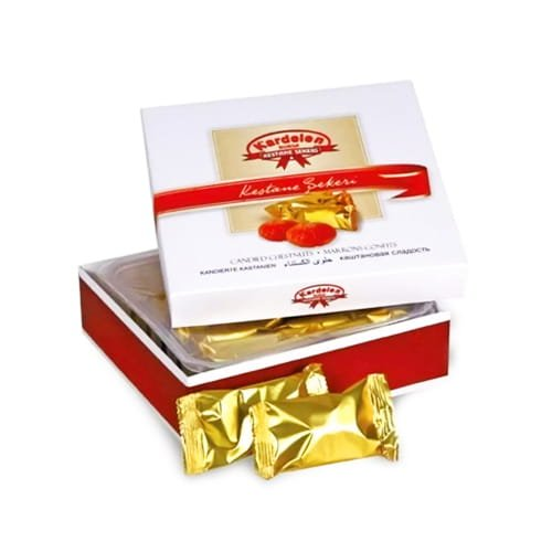 Candied Chestnuts Gift Box (180g)