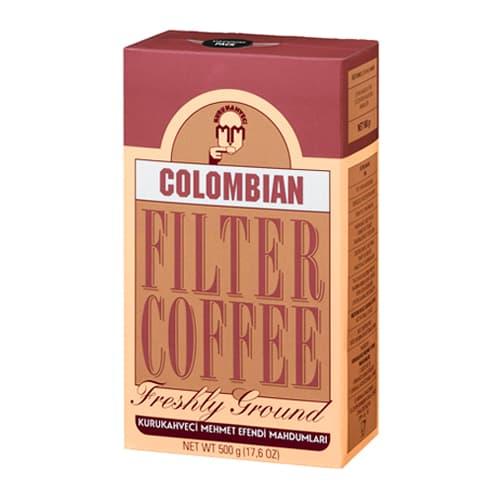 Kopi filter Kolombia kurukahveci mehmet efendi