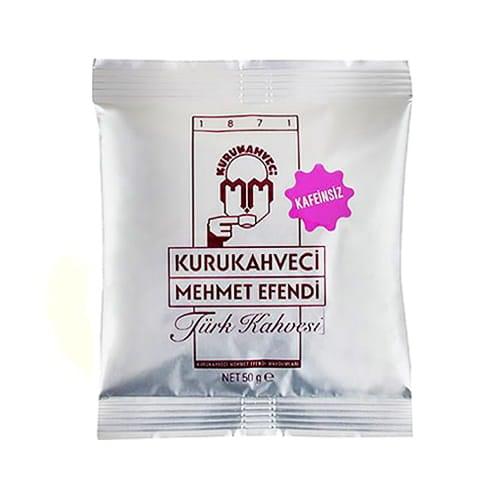 Decaf tyrkisk kaffe KuruKahveci Mehmet Efendi