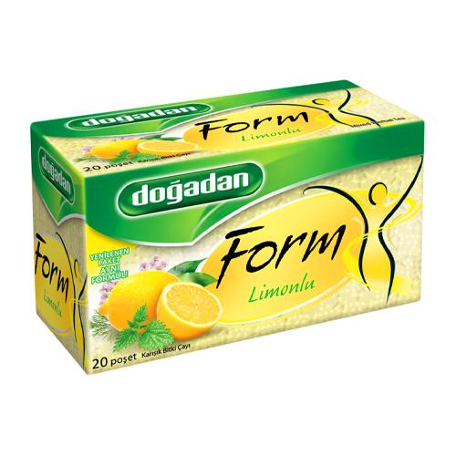 Dogadan vormen citroenthee