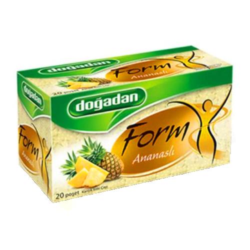 डोगादान फॉर्म अनानास चाय