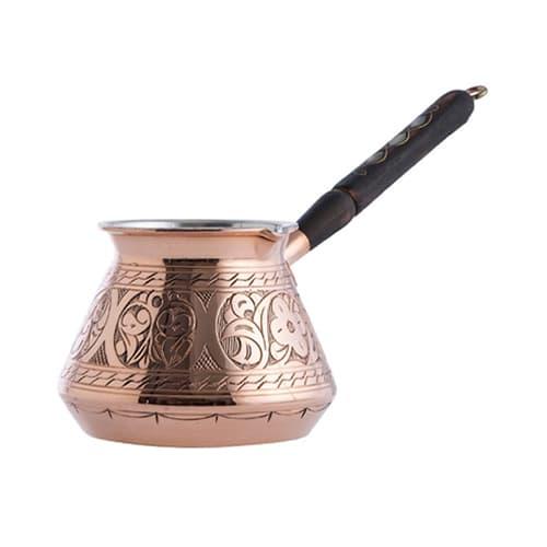 Cafetière turque en cuivre martelé à la main