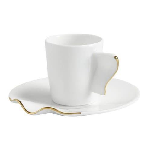 Kaffa-tea - & - ถ้วยกาแฟ - ชุด 6 ชิ้น