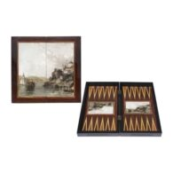 Maiden Tower Handmade Backgammon Nacre