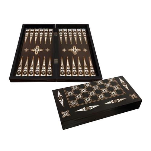 Pearl handgemaakte backgammon paarlemoer