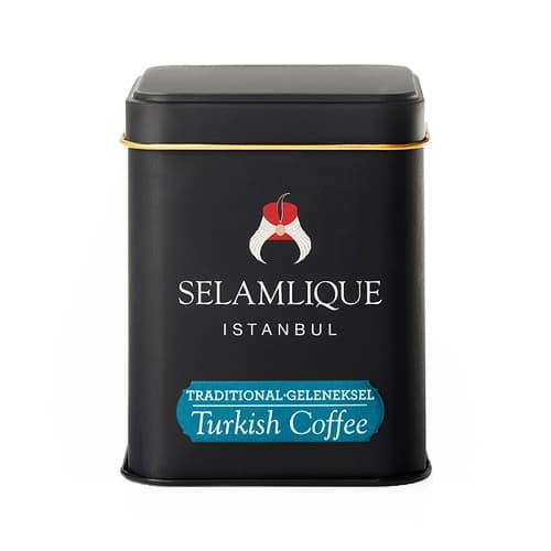 Boîte à café turque moulue Selamlique (125g)