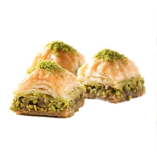 Baklava quadrato con pistacchio