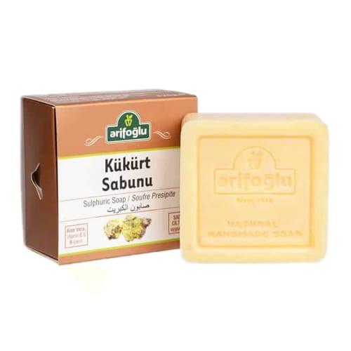 天然硫磺皂