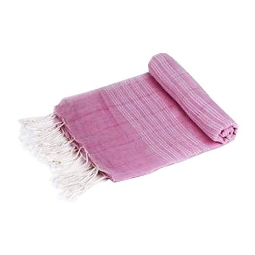 Traditionelles handgemachtes türkisches Sultan Peshtemal Pink