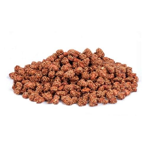 Tyrkiske jordnødder med sesam og honning
