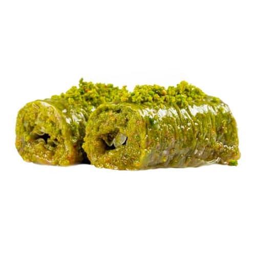 Wrap with Pistachio Baklava