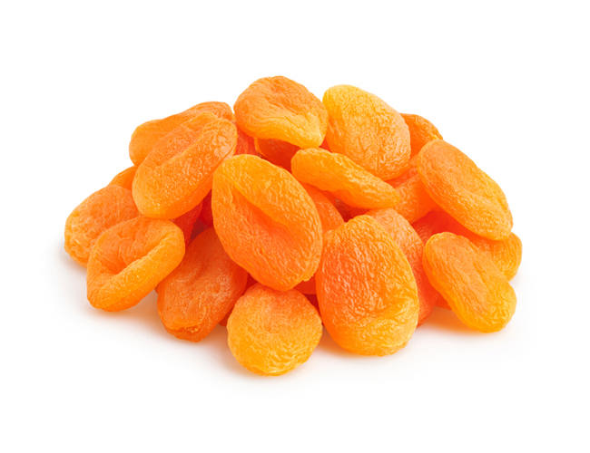 Dried Apricots, Yellow фото