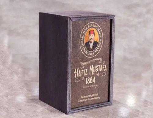 Organic chestnut honey hafiz mustafa 500g