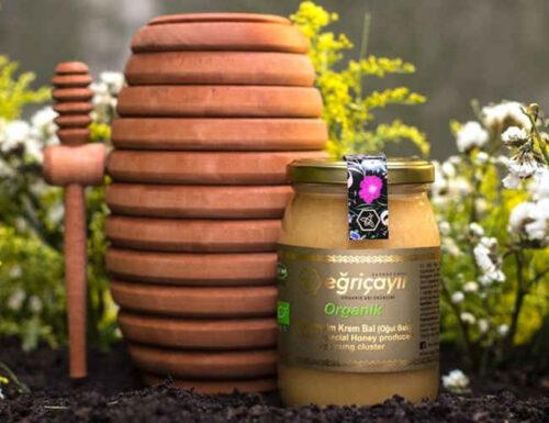 Organic virgin honey 450gr