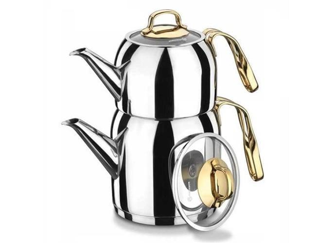 Turkish Tea Pot Set, Goldia фото