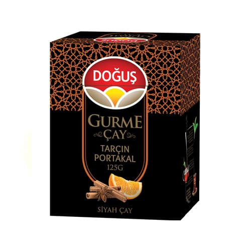 Doğuş Gourmet Kanel Orange tyrkisk sort te