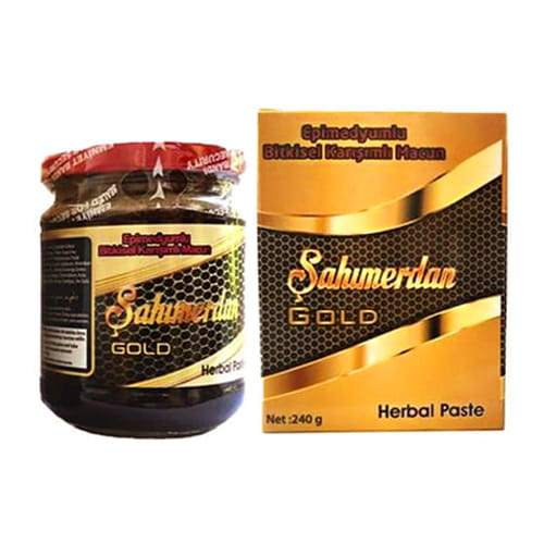 Macun Turki Dengan Pasta Herbal Epimedium (Afrodisiak) - Şahmerdan Gold Premium
