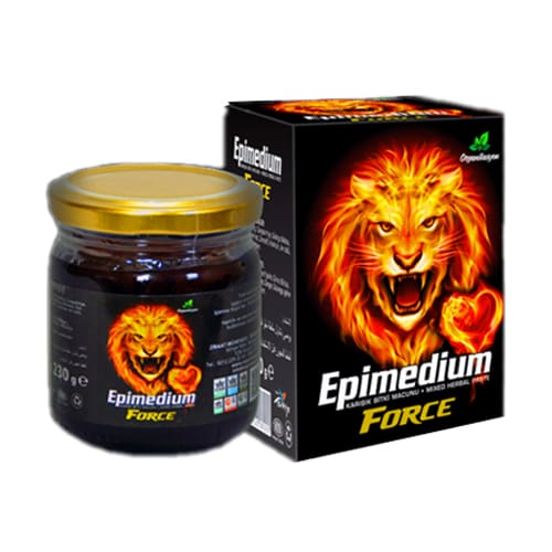 Pasta Mesim turca Epimedium Force Plus (Afrodisiaco - Mesir Maccun)