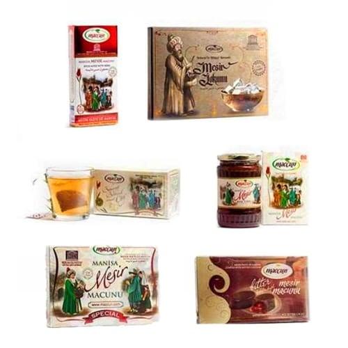 Afrodisiaco - Pasta di Mesir turco (Mesir Macunu) - Set di Maccun (6 in 1)