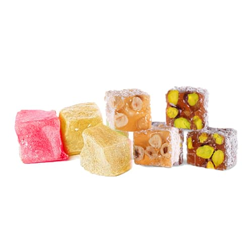 Haci Bekir Assorted Nuts Turkish Delight 200gr