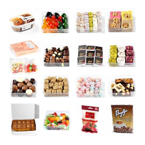 Haci Serif 50 Different Turkish Sweets Box