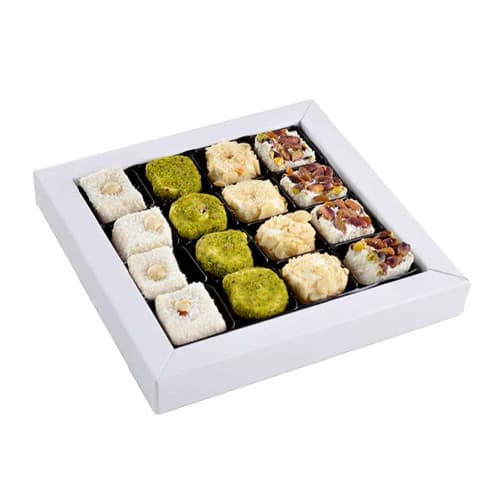 Haci Serif Tiny Flavours Turkish Delight Feast 400gr