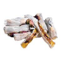 Delicias turcas con masilla de goma y pistacho