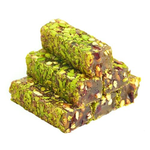 Turkish Delight mat Honey Pistachio