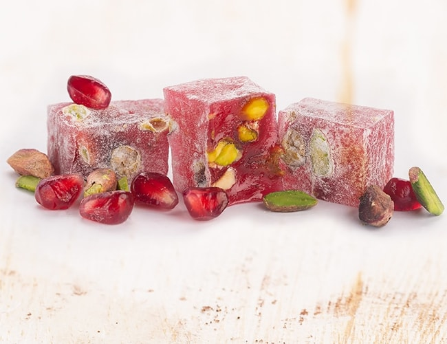 Hafiz Mustafa Turkish Delight with Pomegranate and Pistachio фото