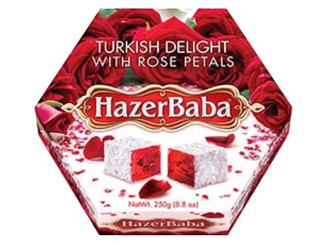 Hazer Baba Turkish Delight with Rose Petals фото
