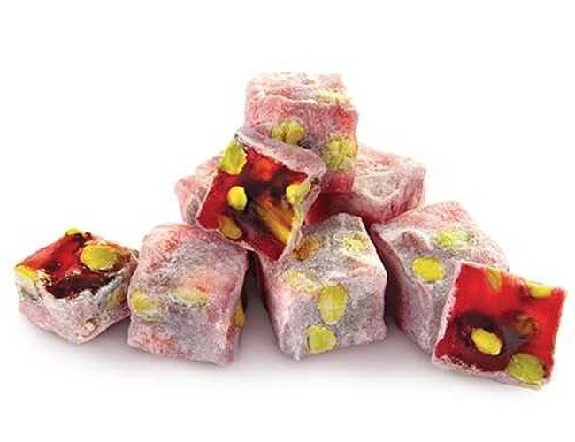 Turkish Delight with Pomegranate and Pistachio фото