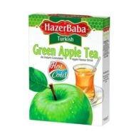 Турецкий зеленый яблочный чай Hazer Baba