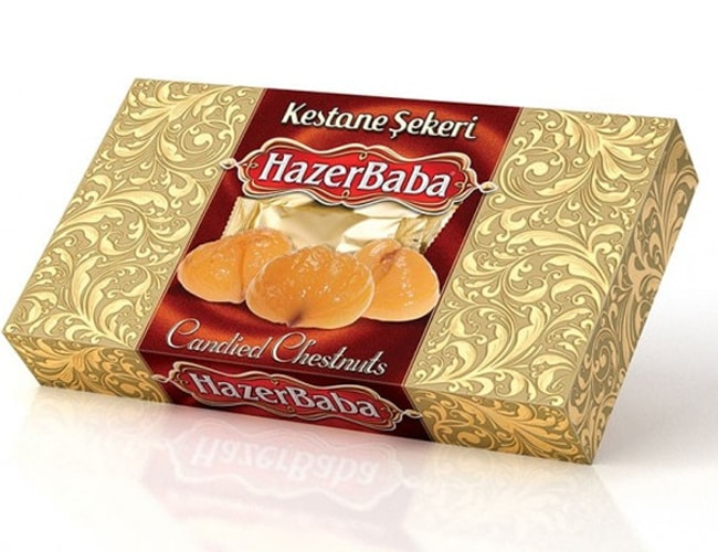 Hazer Baba Candied Chestnuts фото
