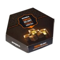 Koska ช็อกโกแลตเคลือบ Turkish Delight พร้อม Double Hazelnut 140 gr