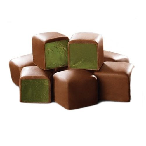 Koska Chocolate Coated Turkish Delight with Mint Flavored 140 gr