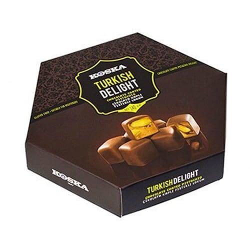 Koska chokladbelagd turkisk fröjd med pistage 140 gr