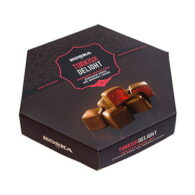 Koska Chocolate Coated Turkish Delight with Rose Flavored 140 gr