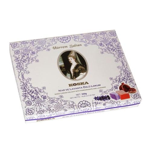 Koska Traditioneel Turks fruit Hürrem Sultan met granaatappel en lavendel Gemengd 550 gr
