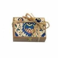 Koska traditional turkish delight with double pistachios – wooden boxed